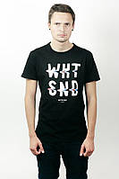 Футболка мужская White Sand white-black