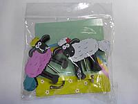 Крючок для полотенец (набор из 2шт) деревянн.детск.сувенирн.