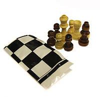 Запасные фигуры для шахмат+ полотно для игр