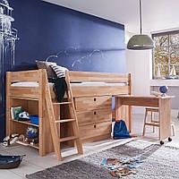 Детская кровать-чердак трансформер b03 (Mobler TM)