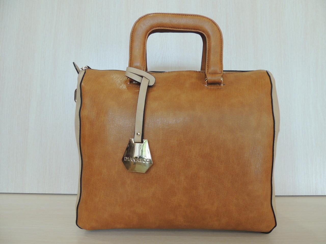 Стильная сумка женская эко-кожа. Италия