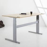 501-29-7S 133: Эргономичный офисный стол Conset для работы сидя-стоя с электроприводом (для высоких людей)