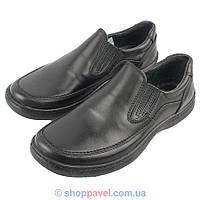 Туфли мужские с натуральной кожи Giorgio 28#1 черные