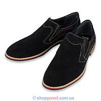 Туфли мужские классические Markko M-180 замшевые лоферы