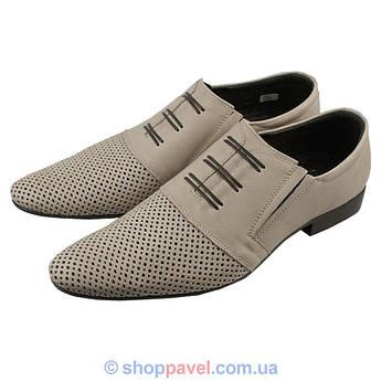 Туфли мужские классические Tapi 4107/279 бежевого цвета