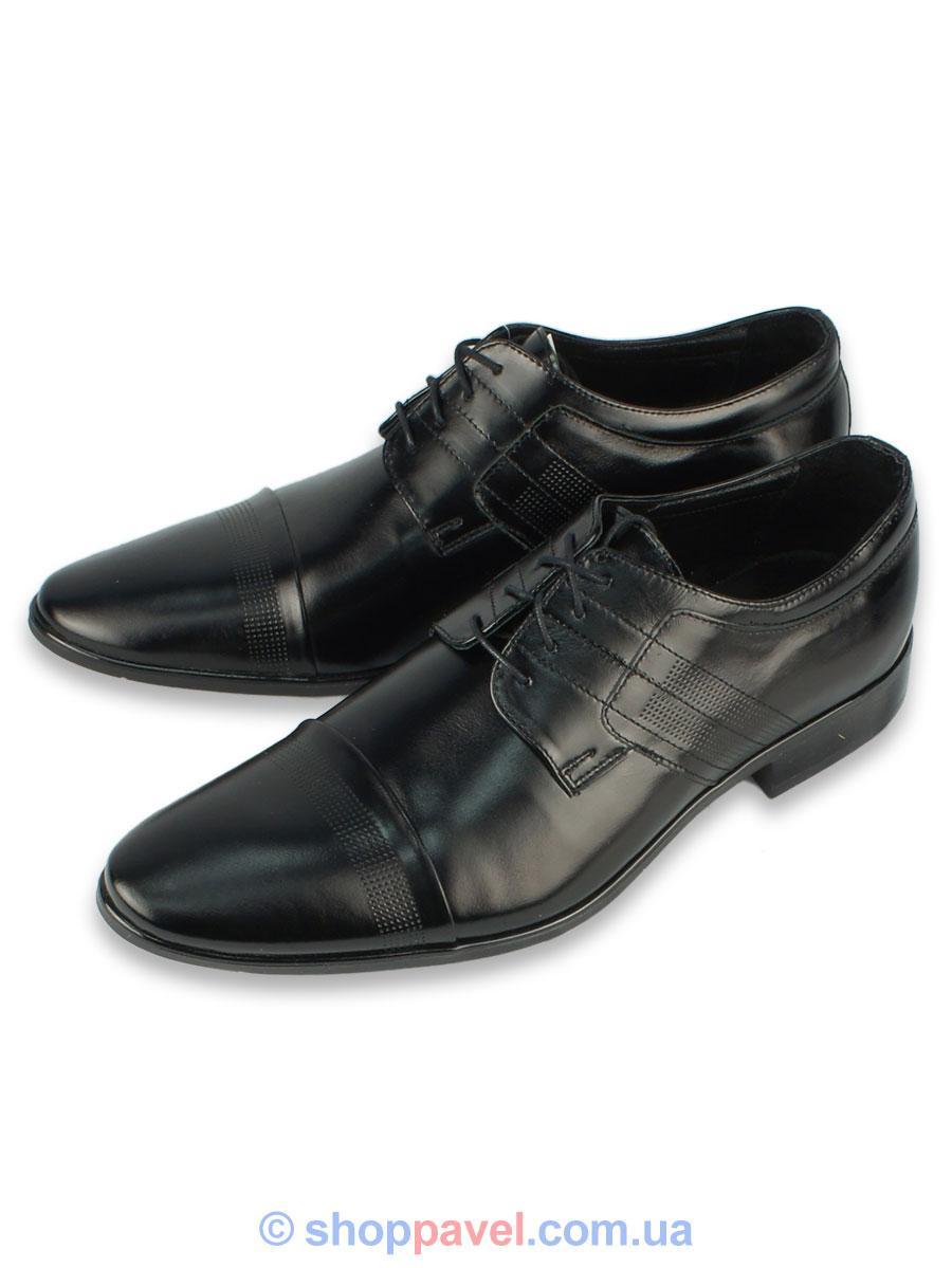 Туфлі чоловічі класичні Lemi 735 чорні