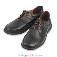 Туфли мужские Lemi 231 коричневые (Польша)