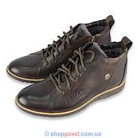 Ботинки мужские зимние Lemar 1037 (цвет коричневый)