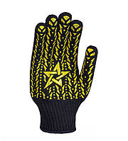 Рабочие перчатки трикотажные с ПВХ 7 класс Doloni Звезда 4080