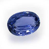 Сапфир синий, 10х7 мм