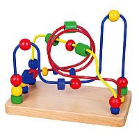 Пальчиковый лабиринт Viga toys Бусинки (56256)
