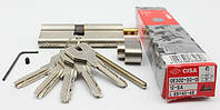 Cisa Asix 85мм 40х45 ключ/тумблер никель (Италия)