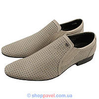 Туфли мужские классические Tapi 4106/279 бежевого цвета
