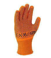Рабочие перчатки трикотажные с ПВХ 13 класс Doloni Авто 4111