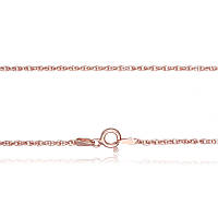 Серебряная цепь позолоченная - жгут 803А 3/45