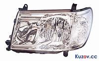 Фара Toyota Land Cruiser 100 05-08 левая (DEPO) механич./электрич. 212-11H9L-LD-EM