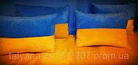Декоративная подушка флаг Украины