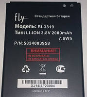 Батарея Fly BL3819 для мобильного телефона iQ4514 Quad EVO Tech 4