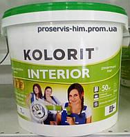 Краска для внутренних работ Колорит Интериор (Interior) 4,2кг 3л