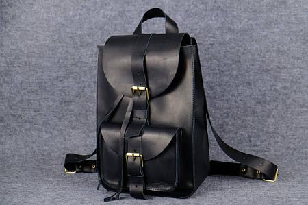 Рюкзак из натуральной кожи |11910| Черный