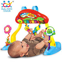 Игровой развивающий центр Huile Toys Фитнесс-пианино 786, Huile Toys