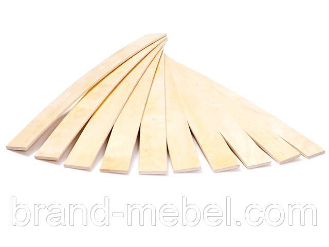 Ламель, латофлекс грабова 800*53 мм.