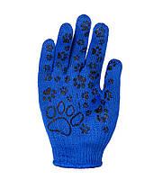 Рабочие перчатки для детей трикотажные с ПВХ 10 класс Doloni Киттислед 4121 (672)