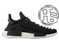 Мужские кроссовки Adidas Originals x Pharrell Williams NMD Black S79167