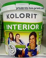 Краска для внутренних работ Колорит Интериор (Interior) 1,45кг 1л