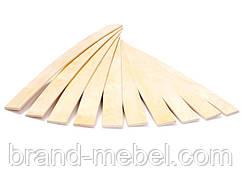 Ламель, латофлекс грабова 900*53 мм.
