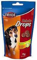Лакомства Trixie Chocolate Drops для собак со вкусом шоколада, 75 г
