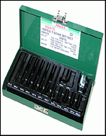 HANS. Набор бит TORX (30/75 мм), Т20-Т55. 15 предметов. (06415)