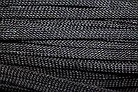 Шнур плоский 8мм (100м) черный , фото 1
