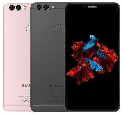 Смартфон Bluboo Dual, 2/16Gb, 13/5Мп, экран 5.5'' IPS, 2sim, 4G, 4 ядра, GPS, Android 6.0, Сканер отпечатков