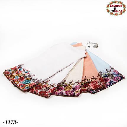 Красивый платок Лаванда , фото 2