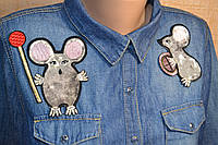 "Нашивки ""Мыши"" под DsG"