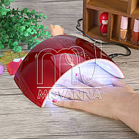 УФ лампа UV/LED Nail Lamp SUN 9C 24 Вт для сушки геля и гель-лака (red)