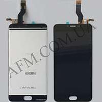 Дисплей (LCD) Meizu M3 Note с сенсором черный (ВЕРСИЯ L681h)