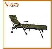 """Складной стул рыбака """"Carp"""" с подставкой для ног"""