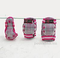 Защита Explore Cooper Серо-розовая  размер XS