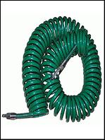 Шланг спиральн.для пневмоинстр-та 8*12мм*15м с переходниками (V-81215Р)
