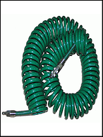 Шланг спиральн.для пневмоинстр-та 8*12мм*20м с переходниками (V-81220Р)