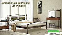 Кровать металлическая Маргарита двуспальная