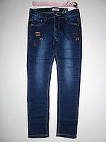 Джинсовые брюки для девочек Seagull оптом,134-164 pp., фото 1
