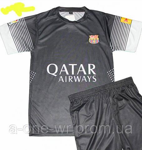 Мужская (р.44-54) футбольная форма   Месси  - ФК   Берселона   (Барселона)  - черная, запасная 85b6fc4739e
