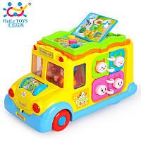 """Игрушка Huile Toys """"Школьный автобус"""" (796), Huile Toys"""