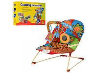 Детский шезлонг - качалка BR 20886-1 для новорожденных