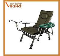 """Складной стул рыбака """"Carp"""" со съемным столиком и подставкой для удочки"""