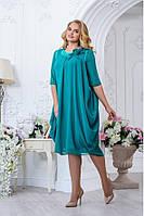 Очаровательное платье для женщин пышных форм 2769
