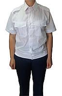 Рубашка форменная для сотрудников полиции (белая